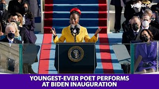 Inauguration 2021: Amanda Gorman is the youngest poet to perform at a presidential inauguration