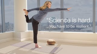 Science is not a sprint, it's a marathon - Christina Waters