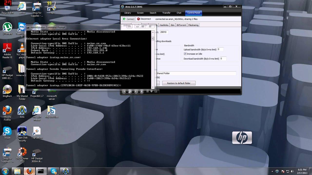 ARES WINDOWS 7 GRATUIT TÉLÉCHARGER 2.1.5