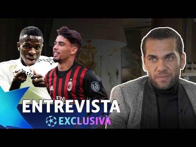 """DANIEL ALVES: """"VINÍCIUS JR E PAQUETÁ PRECISAM DE BOAS REFERÊNCIAS"""" - ENTREVISTA EXCLUSIVA"""