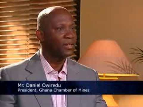 President Of The Ghana Chamber Of Mines (Mr. Daniel Owiredu) on Time With David