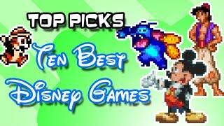 Top Picks - Ten Best Disney Games