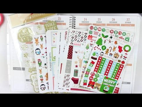 Plan With Me | Christmas Spread #2