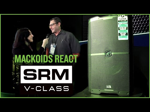 First Reactions - SRM | V-Class High Performance Loudspeakers