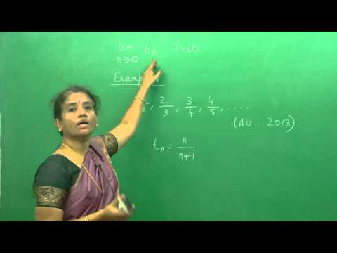 Sequences & Series - Convergence And Divergence(AU ,JNTU ,GATE,Delhi University)