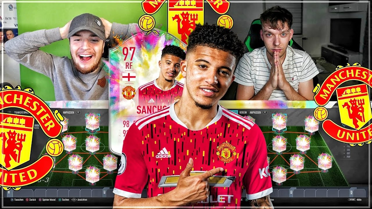 FIFA 20: SANCHO MANCHESTER UNITED TRANSFER BUY FIRST ICON 🔥🔥