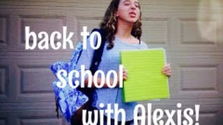 Back To School With Alexis! Thumbnail