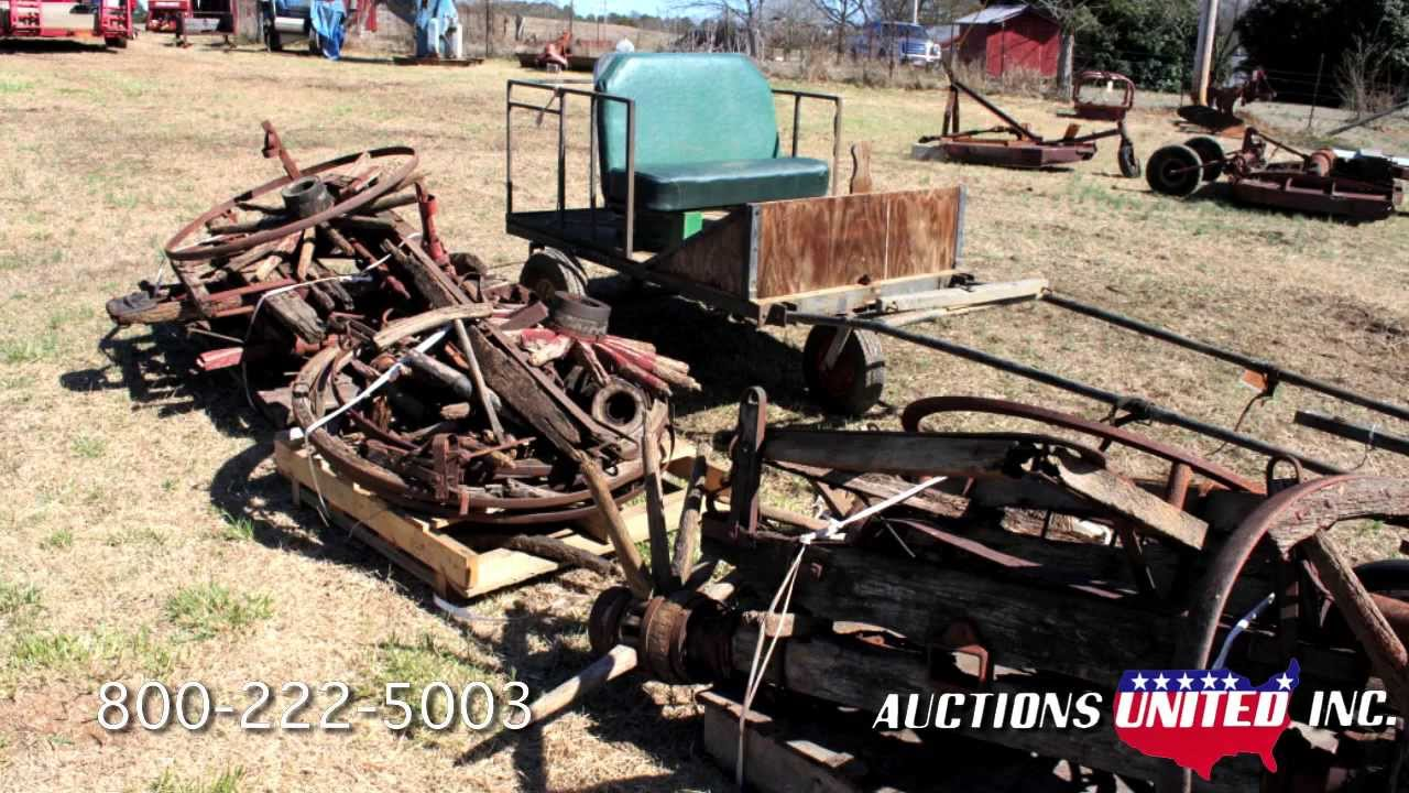 Patterson Estate- Lot 45- Assorted Wagon Parts