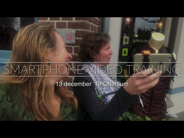 Vrijdag de 13e - smartphone video training Ottersum