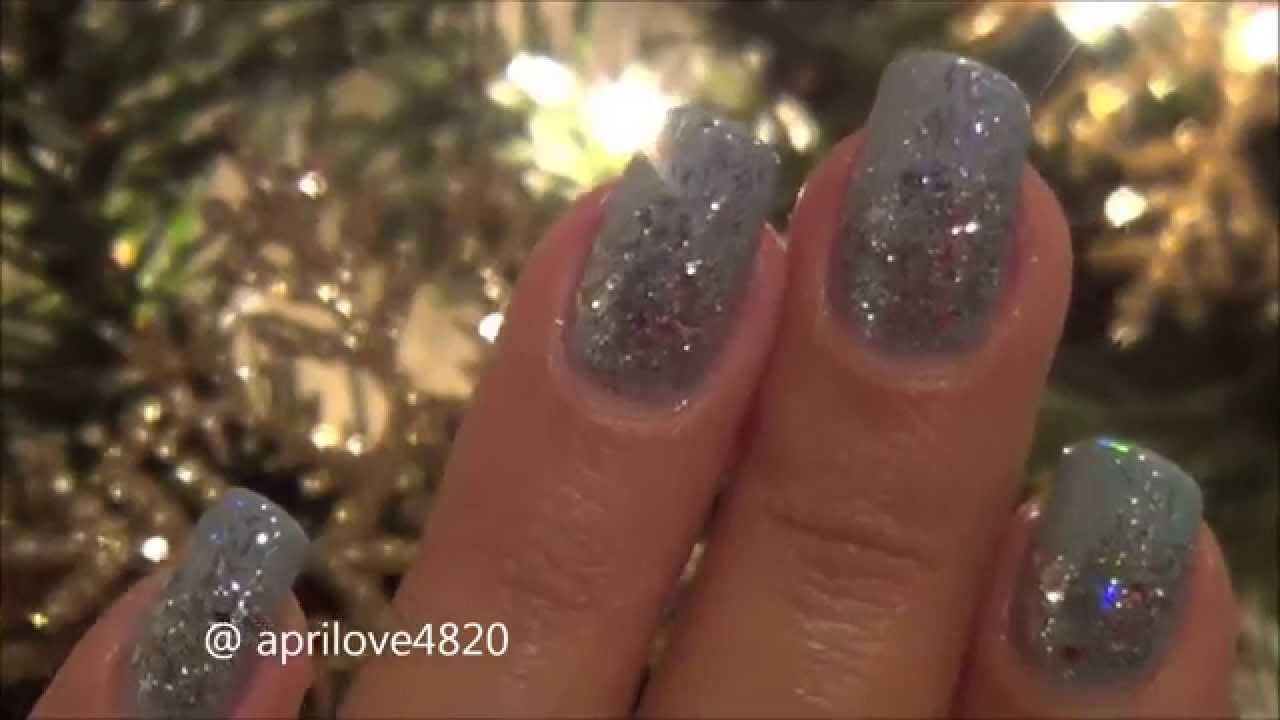 ✴Glitter Nails✴Christmas nails✴New Years Nails✴ - YouTube