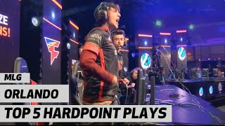 Top 5 Hardpoint Plays at MLG Orlando Open 2016