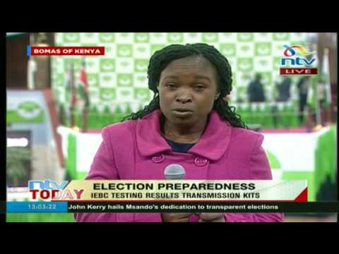 IEBC conducts simulation exercise at Bomas of Kenya