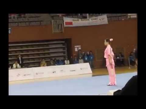 Wushu Busan TreX-Games 2008 - JS / Li Na (China)