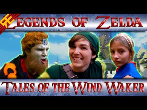 Legends of Zelda: Tales of the Wind Waker (Game Parody Song)
