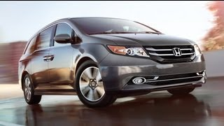 2014 Honda Odyssey EX Start Up and Review 3.5 L V6