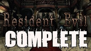 Resident Evil Remastered HD Full Game Walkthrough Complete Game