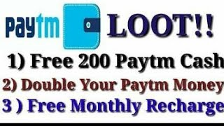 An applicaton gives u unlimited  free paytm hack and crack (hindi)