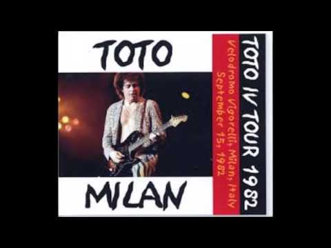 TOTO Live in Milan 1982