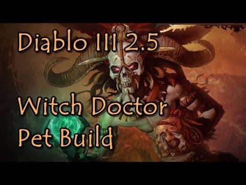 Diablo 3 2.5 Witch Doctor Pet Build Zunimassa's Set