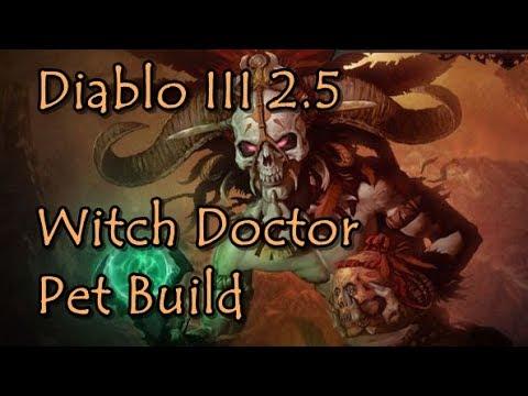 Diablo  S Witch Doctor Pet Build