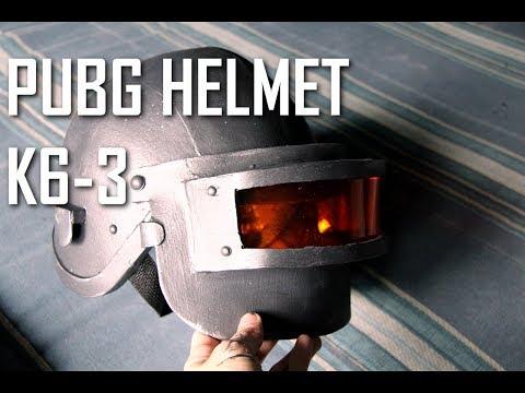 HOW TO: PUBG Costume ( Lv3 Helmet aka K6-3 )