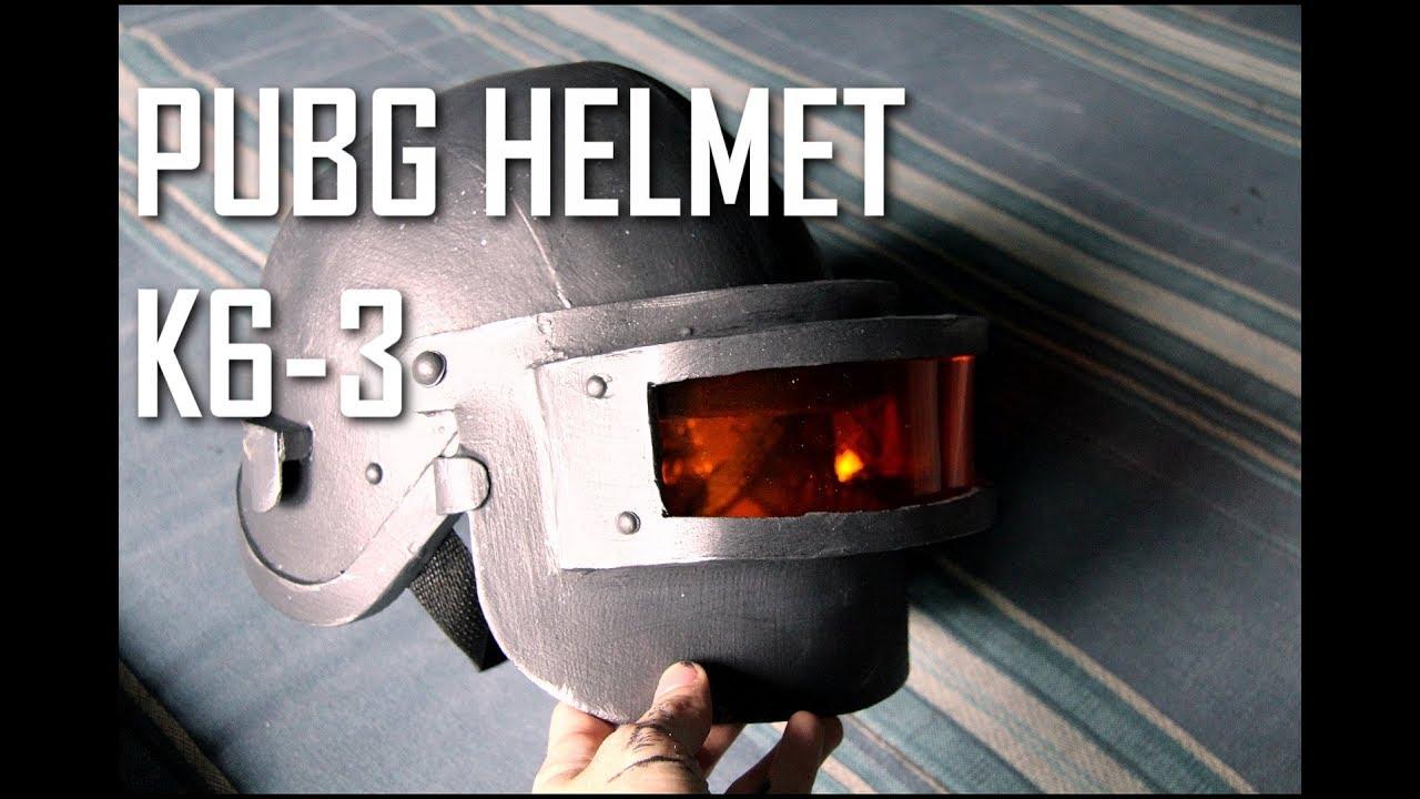 Pubg Helmet: HOW TO: PUBG Costume ( Lv3 Helmet Aka K6-3 )