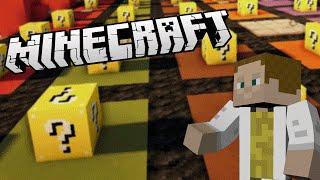 [GEJMR] Minecraft Minihry - Lucky Race - mapy Mario a Spongebob