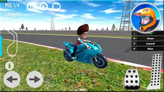 Paw Ryder Moto Racing 3D Gameplay Android - Moto Racing Games