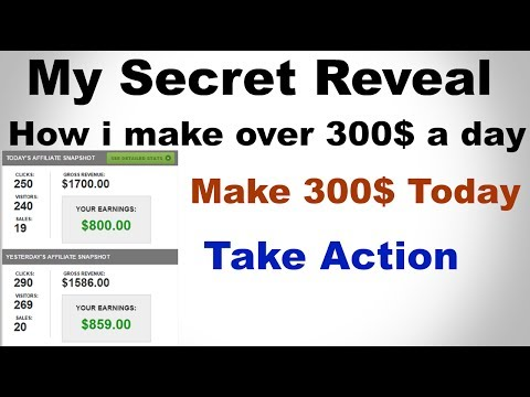 How I make 300$ every day on Jvzoo | No Scam|