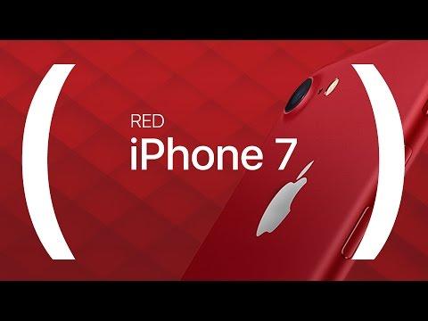 Apple lanza el iPhone 7 (PRODUCT) RED y actualiza más productos