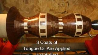 Woodturning A Segmented Lamp.wmv