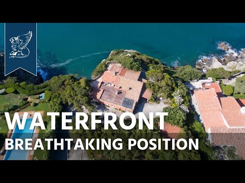 Luxury waterfront villa for sale in Ansedonia | Tuscany, Ita