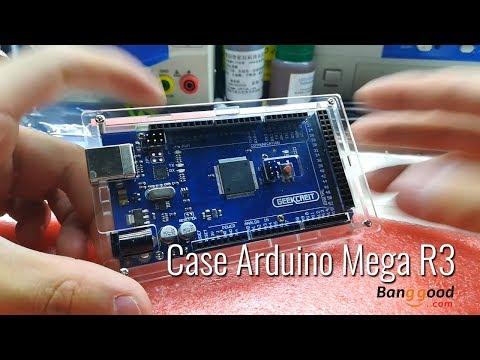 Case Acrílico Arduino Mega - Acrylic Case- Producto De Banggood