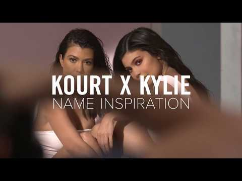 kourt-x-kylie:-the-meanings-behind-the-names