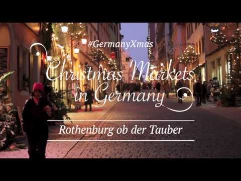 #GermanyXmas - Christmas Markets in Germany - Rothenburg ob der Tauber