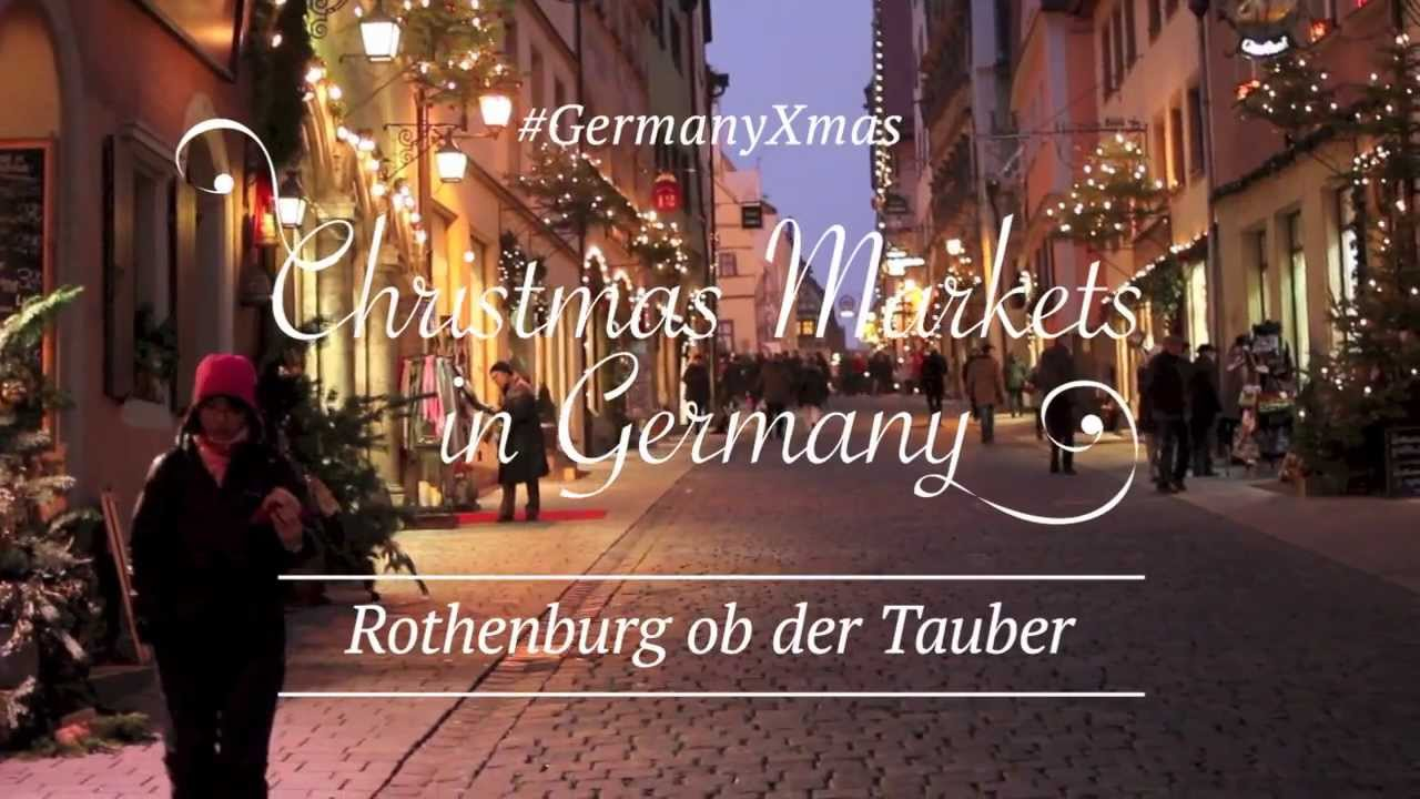 GermanyXmas - Christmas Markets in Germany - Rothenburg ob der ...