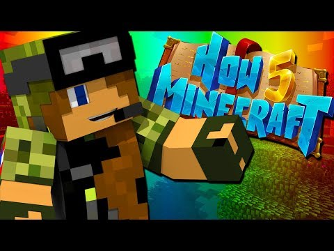 I DIDN'T REALIZE WHAT I MADE!! - How To Minecraft Season 5 (Episode 8)