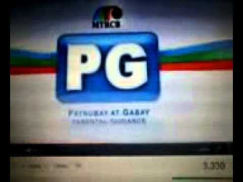 MTRCB - Rated PG