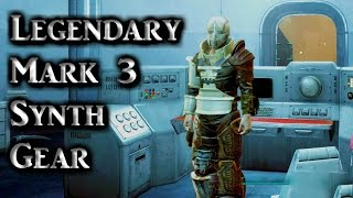 Fallout 4 ► Rare Legendary Mark 3 Synth Gear Armor Piece Location
