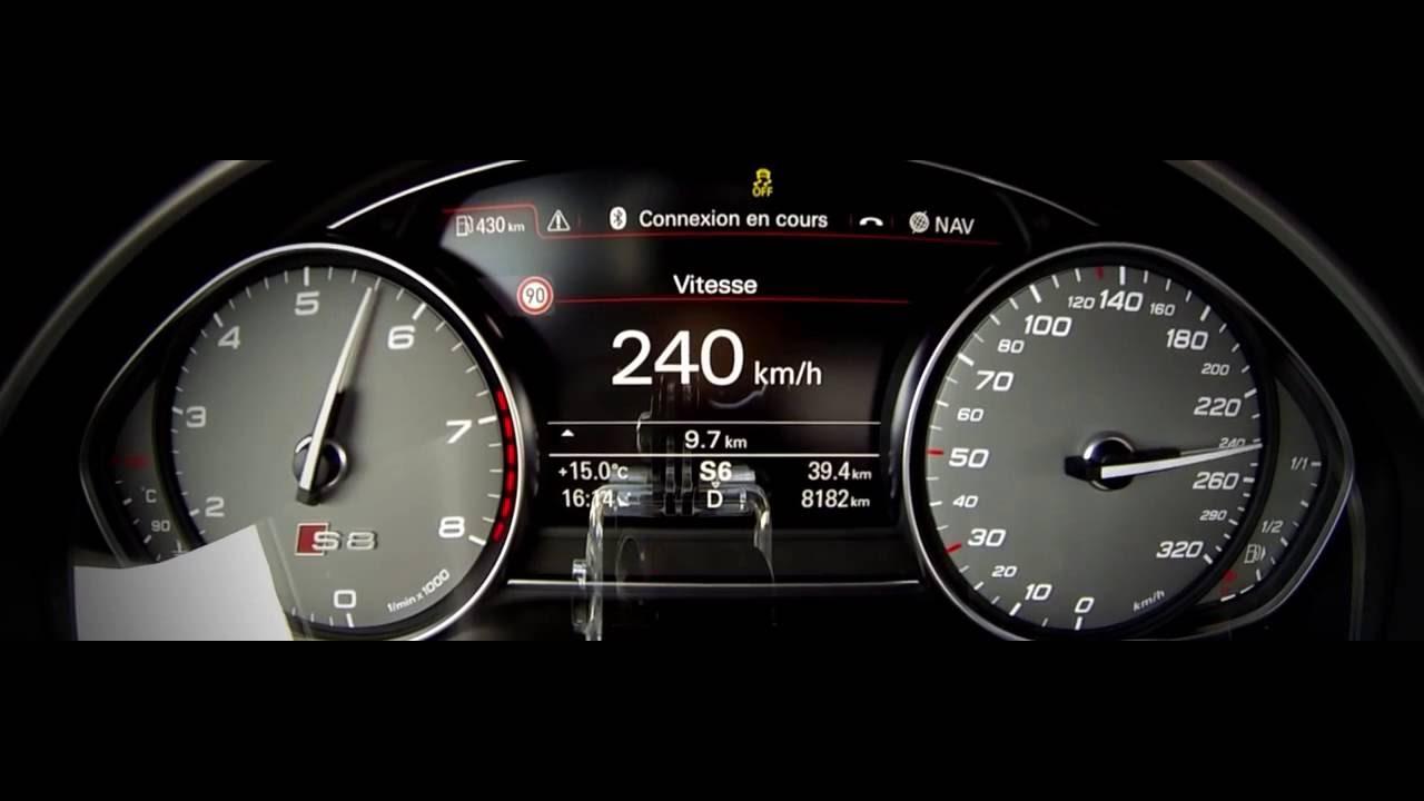 2016 Audi S8 Plus TOP SPEED - YouTube