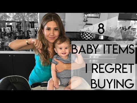8 Baby Items I Regret Buying