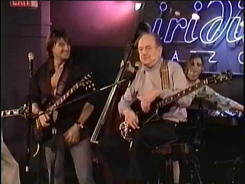 Les Paul with  Richie Sambora
