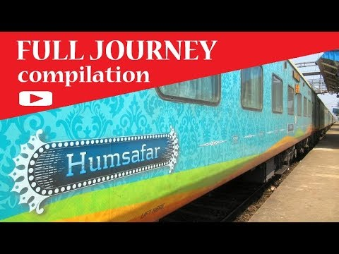 Vijaywada Howrah HUMSAFAR Express : FULL JOURNEY Compilation | INDIAN RAILWAYS
