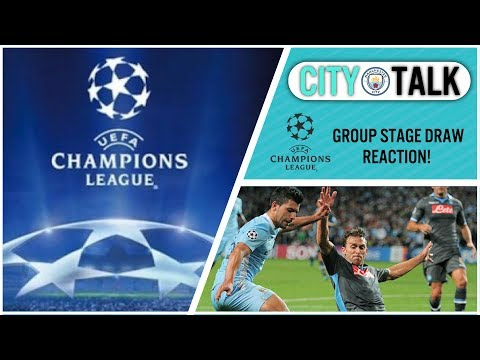 MY REACTION TO THE CHAMPIONS LEAGUE GROUP DRAW! GROUP OF DEATH? EASY RIDE? | CITY TALK