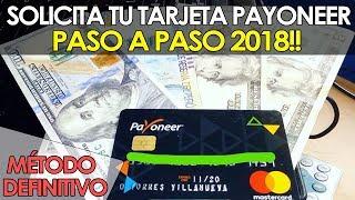 👉💵 COMO CREAR Y SOLICITAR LA TARJETA PAYONEER PASO A PASO 2018 | Método Final 💰💵🔥