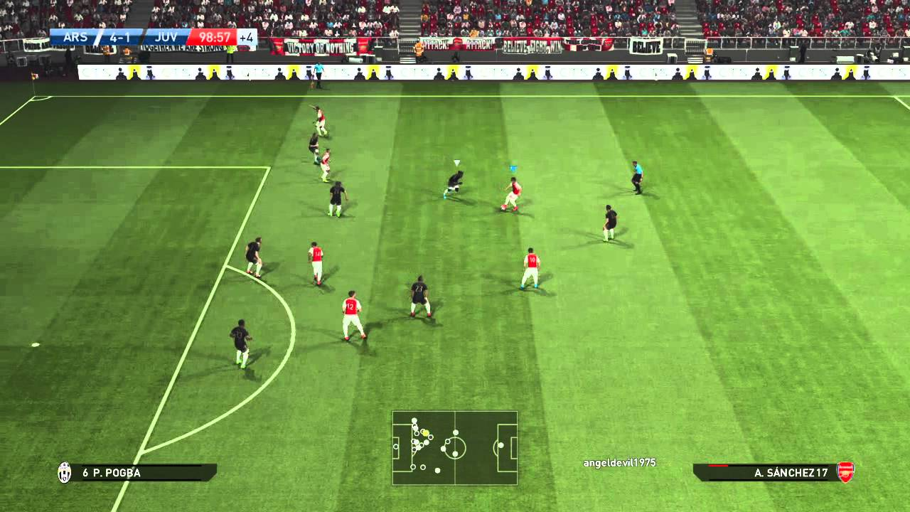 PES 2016: Alexis Sanchez Player ID (Dribbling) - YouTube