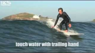 How To Ride Along the Wave Face - a short cut to the green face.