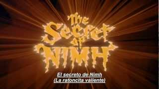 The Secret Of Nimh (1982). Trailer. Subtitulado al español.