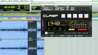 CLASP VIDEO MANUAL CH 10 - PLAYLISTS WITH TAPE