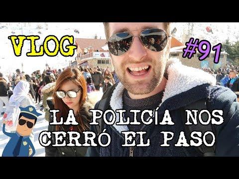 LA POLICÍA NOS CIERRA EL PASO Y NO NOS DEJA ENTRAR VLOG# 91
